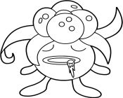 pokemon gloom coloring pages - photo#5