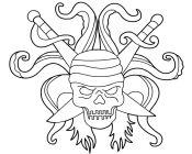 Mighty Pirate Skull