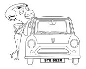 Mr Bean and Car 2
