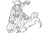coloring pages jack sparrow - photo#26