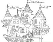 Castle Coloring Pages  Princess Castle