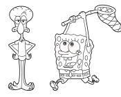 Spongebob Playing