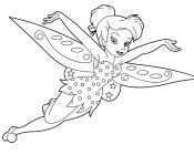 Tinkerbell Flying